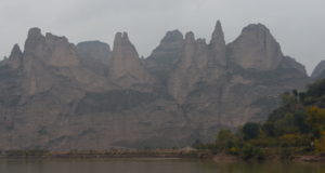 Cliffs Along Yellow River
