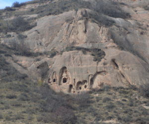 Caves in Mountainside