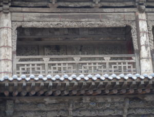 Structural Detail of Reclining Buddha Hall