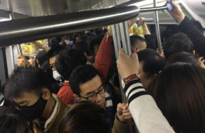 During Rush Hour on Line 10